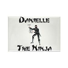 Danielle - The Ninja Rectangle Magnet