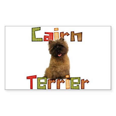 Cairn Terrier Rectangle Sticker