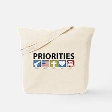 GOP Priorities Tote Bag