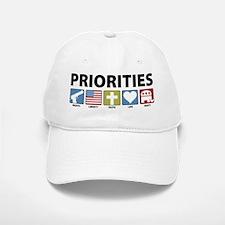 GOP Priorities Baseball Baseball Cap