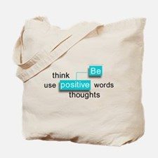 'Be Positive' Tote Bag