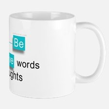 'Be Positive' Mug