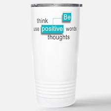 'Be Positive' Travel Mug