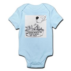 InMyDog'sBowl Infant Creeper