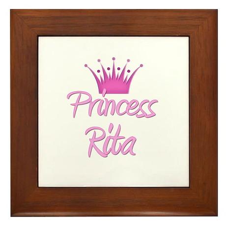 Princess Rita Framed Tile