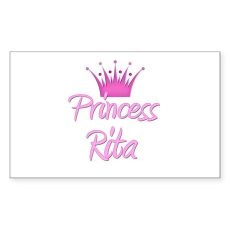 Princess Rita Rectangle Sticker