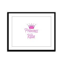 Princess Rita Framed Panel Print