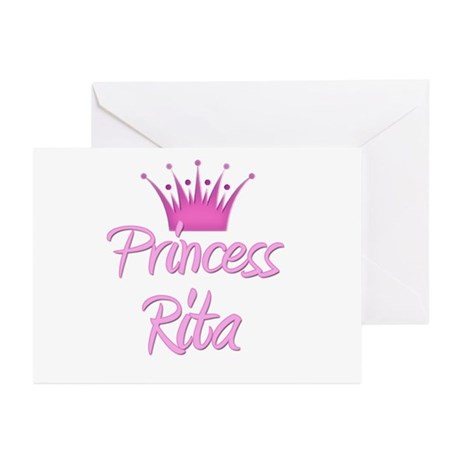Princess Rita Greeting Cards (Pk of 10)