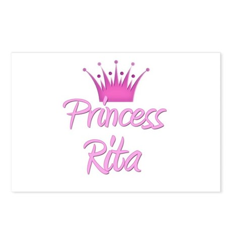 Princess Rita Postcards (Package of 8)