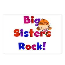Big Sisters Rock Postcards (Package of 8)