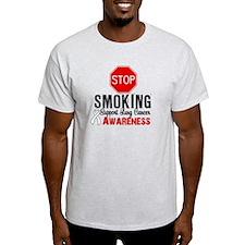 Stop Smoking Lung Cancer T-Shirt