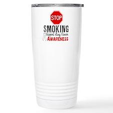 Stop Smoking Lung Cancer Travel Mug