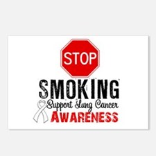 Stop Smoking Lung Cancer Postcards (Package of 8)