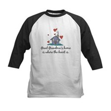 Great Grandma's Home is Where the Heart Is Tee