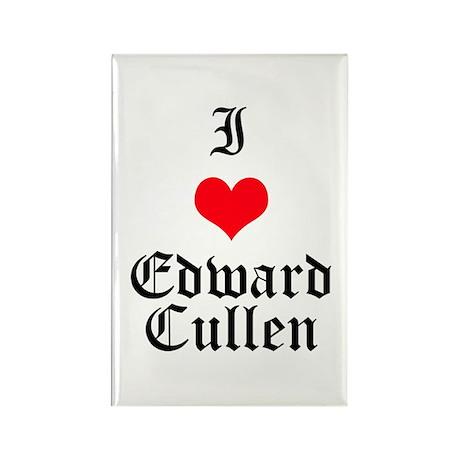 I Heart Edward Cullen Rectangle Magnet