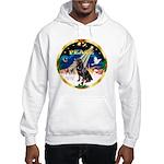 XmasSunrise/Rottweiler Hooded Sweatshirt
