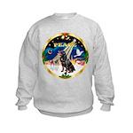 XmasSunrise/Rottweiler Kids Sweatshirt