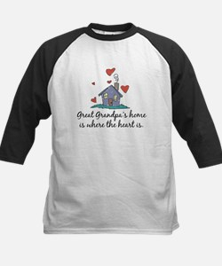 Great Grandpa's Home is Where the Heart Is Tee
