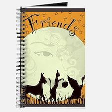 Unique Halloween cat Journal