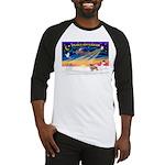XmasSunrise/Tibet Span #1 Baseball Jersey