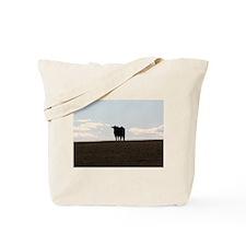 Black Cow Tote Bag
