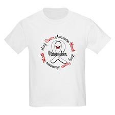 Awareness Month Lung Cancer T-Shirt