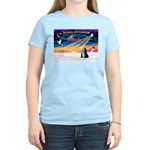XmasSunrise/Tibet Ter Women's Light T-Shirt