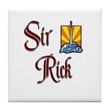 Sir Rick Tile Coaster