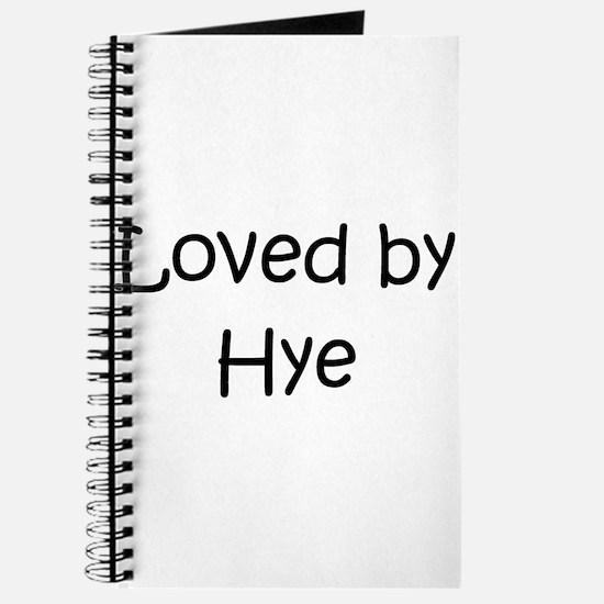 Unique Hye Journal