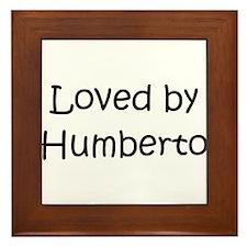 Cute Humberto Framed Tile