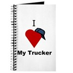 I Love My Trucker Journal