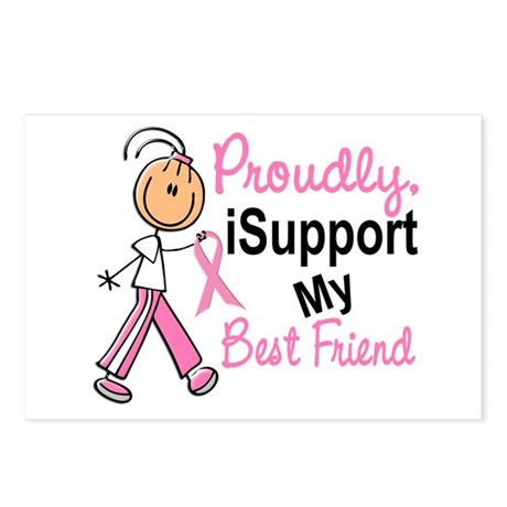 I Support My Best Friend 1 (SFT BC) Postcards (Pac