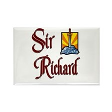 Sir Richard Rectangle Magnet