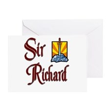 Sir Richard Greeting Card