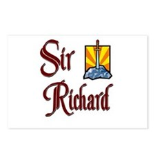 Sir Richard Postcards (Package of 8)
