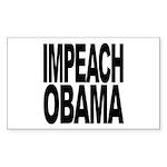 Impeach Obama Rectangle Sticker