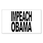 Impeach Obama Rectangle Sticker 10 pk)