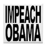 Impeach Obama Tile Coaster