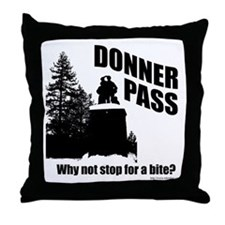 Donner Pass Throw Pillow