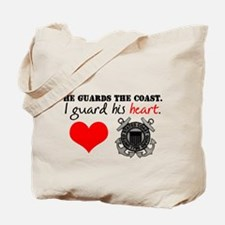 Guard His Heart Tote Bag
