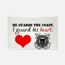 Guard His Heart Rectangle Magnet (10 pack)