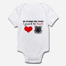 Guard His Heart Infant Bodysuit
