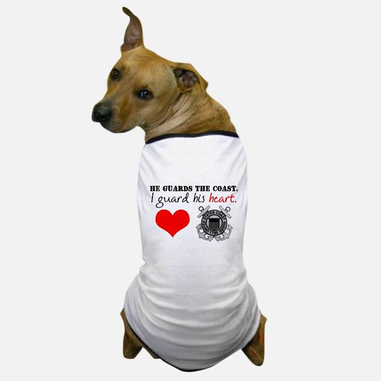 Guard His Heart Dog T-Shirt
