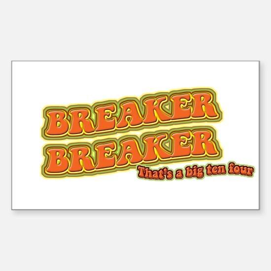 Breaker Rectangle Decal