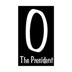 O The President black bumper sticker