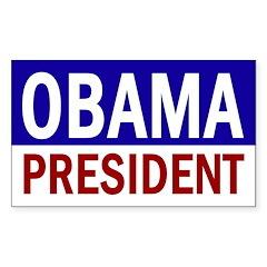 Obama: President! (bumper sticker)