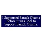 I Supported Obama Before it was Cool