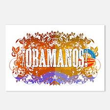 Obamanos Flowering Postcards (Package of 8)