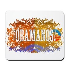 Obamanos Flowering Mousepad