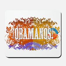 Obamanos Flowering Mousepad